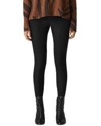 Whistles Super Stretch Trousers - Black