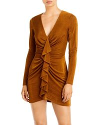 Significant Other Katie Mini Dress - Brown