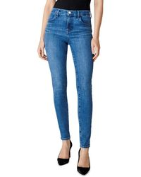 J Brand - Maria High - Rise Skinny Jeans In Heart - Lyst