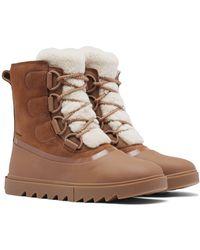 Sorel Women's Joan Of Arctic Next Lite Shearling Waterproof Cold Weather Boots - Brown