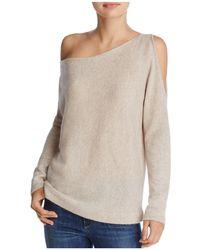 Minnie Rose | Open-shoulder Cashmere Sweater | Lyst