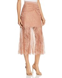 Alice McCALL Because You Need Me Lace Skirt - Pink