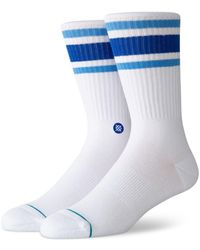 Stance Striped Tube Socks - Blue