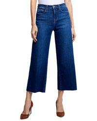 L'Agence Danica Wide - Leg Jeans In York - Blue