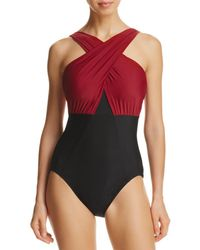 Miraclesuit - Network Embrace One Piece Swimsuit - Lyst