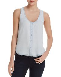 DL1961 - N 6th & Berry Chambray Top - Lyst