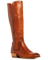Frye Women's Carson Piping Tall Boots - Brown