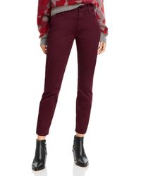 7 For All Mankind - Jen7 By Sateen Skinny Ankle Jeans - Lyst