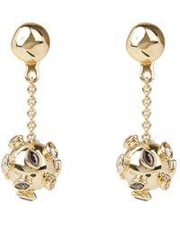 Alexis Bittar Asteria Nova Sputnik Chain Drop Earrings - Metallic