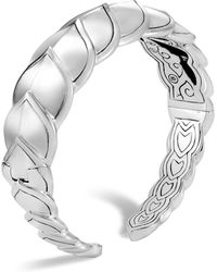 John Hardy - Sterling Silver Legends Naga Medium Kick Cuff - Lyst
