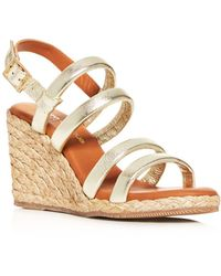 Andre Assous - Women's Rebecca Strappy Wedge Sandals - Lyst