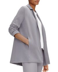 Eileen Fisher - Notched Collar Jacket - Lyst
