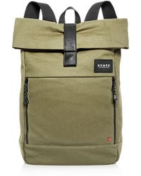 State - Kensington Colby Canvas Backpack - Lyst