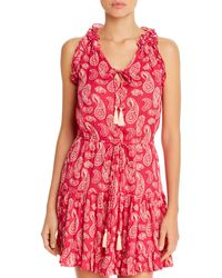 Cool Change Haley Dress Swim Cover - Up - Red