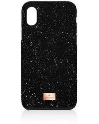 Swarovski High Iphone Case - Black