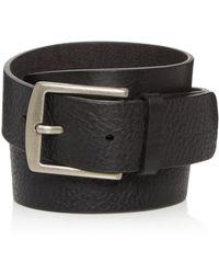 Frye Weston Leather Belt - Black