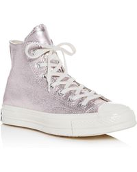 Converse - Women's Chuck Taylor All Star 70 Metallic High Top Sneakers - Lyst
