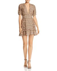 The East Order - Alix Paisley Mini Dress - Lyst