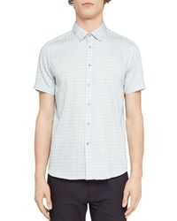 Ted Baker - Modmo Dot Circle Regular Fit Button-down Shirt - Lyst