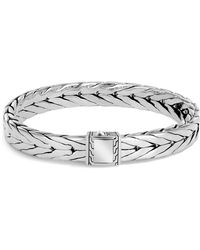 John Hardy Sterling Silver Modern Chain Bracelet - Metallic
