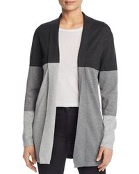 Sioni - Open Front Color Block Cardigan - Lyst