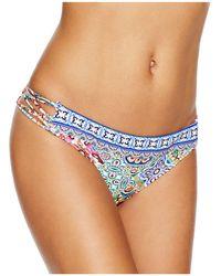 Nanette Lepore - Greek Tiles Hipster Bikini Bottom - Lyst