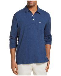 Vineyard Vines - Jersey Long Sleeve Pocket Polo Shirt - Lyst