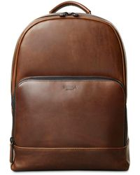 Shinola - Fulton Leather Backpack - Lyst