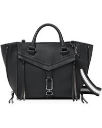 Botkier Trigger Leather Satchel - Black