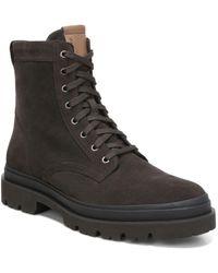Vince Raider Lace Up Boots - Multicolour