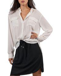 ATM Crepe Georgette Shirt - Multicolor