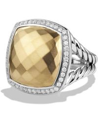 David Yurman - Albion Ring With Diamonds And Gold - Lyst