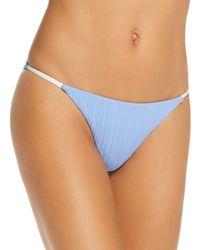 Onia Rochelle Bikini Bottom - Blue