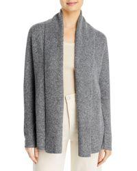 Karen Kane Shawl Collar Cardigan - Grey