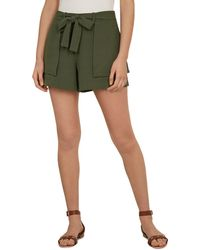Ted Baker Mitty Tie - Waist Shorts - Green