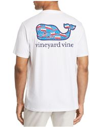 Vineyard Vines - Usa Whale Tee - Lyst