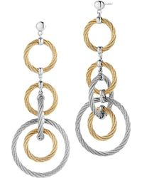 Alor - Cable Drop Earrings - Lyst