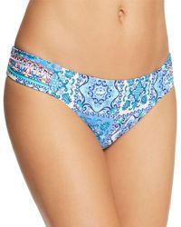 Nanette Lepore - Ensenada Tile Siren Bikini Bottom - Lyst