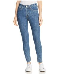 Levi's - 721 High Rise Skinny Jeans In Charged Up - Lyst