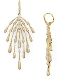 Nadri - Dappled Fannin Drop Earrings - Lyst