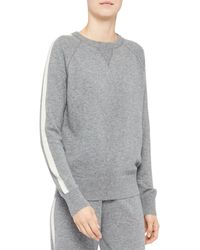 Theory Cashmere Sweatshirt - Grey