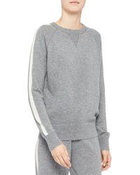 Theory Cashmere Sweatshirt - Gray