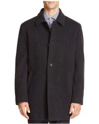 Cole Haan - Wool Cashmere Topper Coat - Lyst