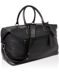 Polo Ralph Lauren - Pebbled-leather Duffel Bag - Lyst
