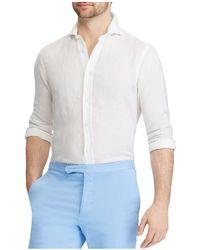 Polo Ralph Lauren - Linen Classic Fit Button-down Shirt - Lyst