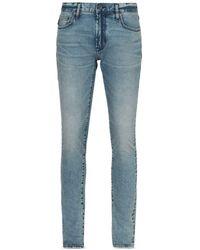 John Varvatos Wight Slim Fit Jeans In Summer Sky - Blue