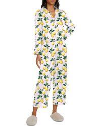Generation Love Nikki Lemon Print Pyjama Set - Multicolour