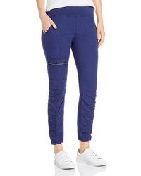 XCVI Malanda Ruched Cargo Pants - Blue