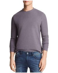 Bloomingdale's - The Men's Store At Bloomingdales Jacquard Crewneck Sweatshirt - Lyst