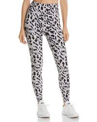 Varley Duncan Cheetah - Print Leggings - Black